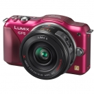 Фотоаппарат системный Panasonic Lumix DMC-GF5X Kit Red