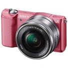 Фотоаппарат системный Sony Alpha A5000 Kit 16-50 Pink