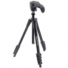 Штатив премиум Manfrotto Compact Action Black (MKCOMPACTACN-BK)