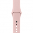 Ремешок Apple 38mm Pink Sand Sport Band (MNJ02ZM/A)