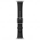 Ремешок Apple 38mm Black Classic Buckle (MPW92ZM/A)