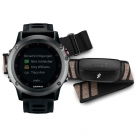 Спортивные часы Garmin Fenix 3 Gray Black Band HRM-Run (010-01338-11)