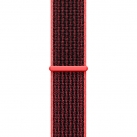 Ремешок Apple 38mm Bright Crimson/Black Nike Sport Loop