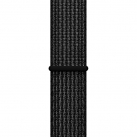 Ремешок Apple 42mm Black/Pure Platinum Nike Sport Loop